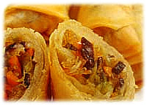 Thai Recipes :  Thai Spring Roll